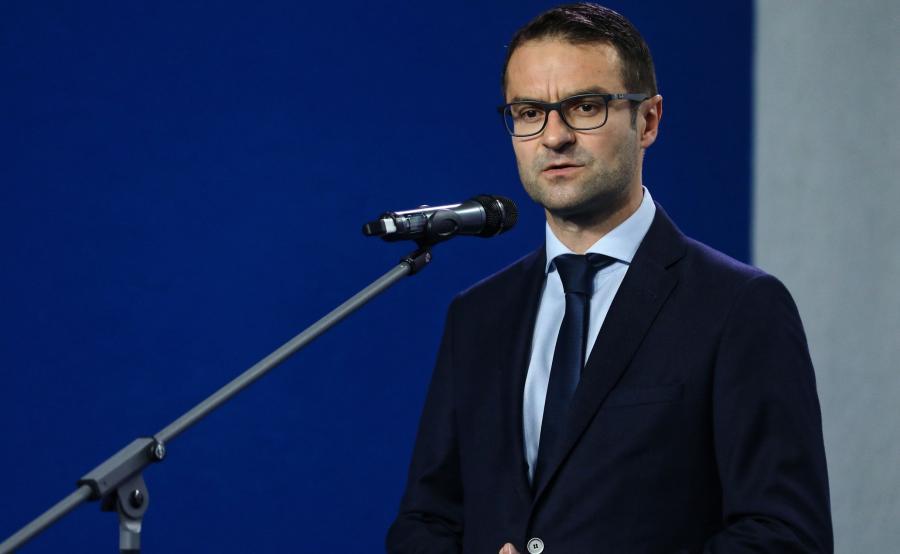 Szef sztabu PiS w wyborach do PE Tomasz Poręba