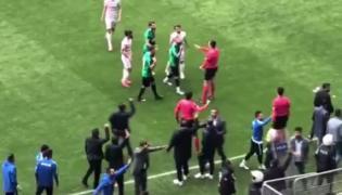 Horror na meczu w Turcji
