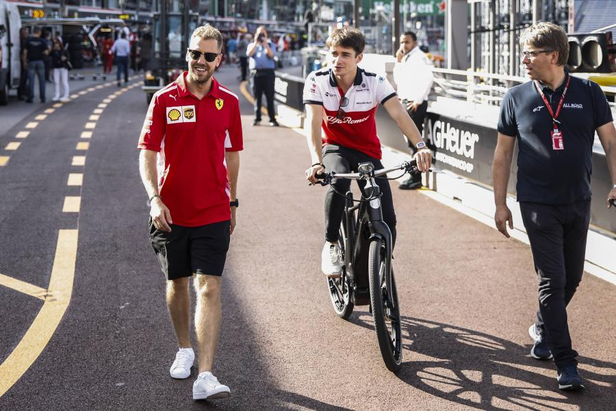 Ferrari: Sebastian Vettel, Charles Leclerc