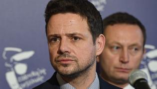 Prezydent Warszawy Rafał Trzaskowski i wiceprezydent Paweł Rabiej