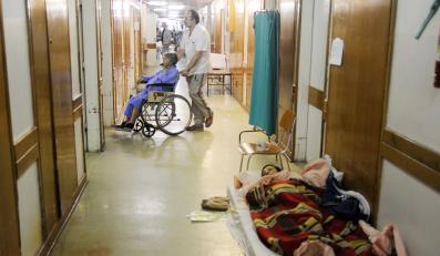 Fatalna sytuacja polskich szpitali
