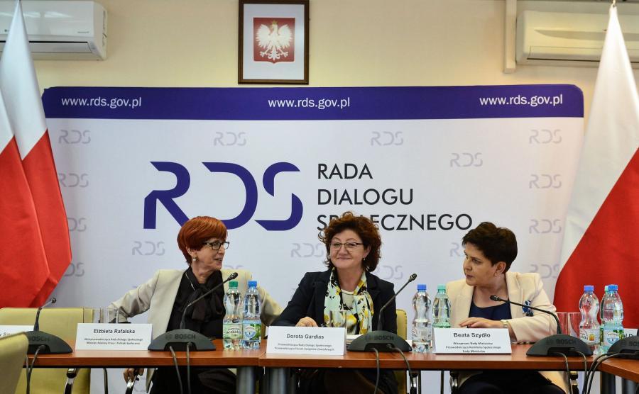 Dorota Gardias, Beata Szydło, Elżbieta Rafalska