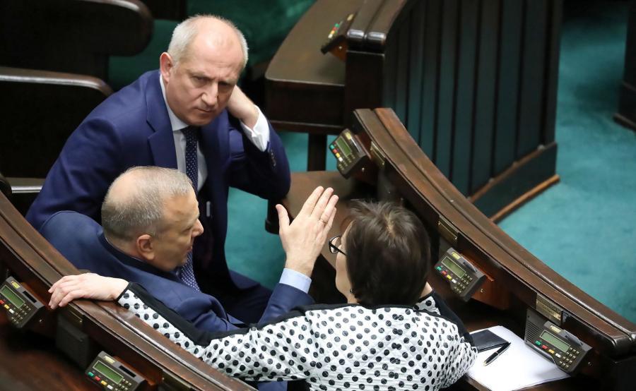 Sławomir Neumann, Grzegorz Schetyna, Ewa Kopacz