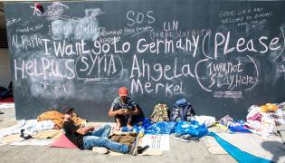 Migranci z Syrii