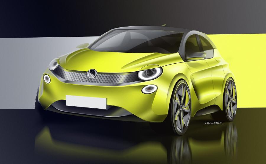 Vosco S106EV. Nowa wizja polskiego auta elektrycznego