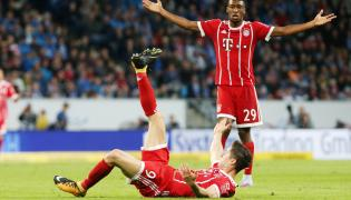 Robert Lewandowski i Kingsley Coman