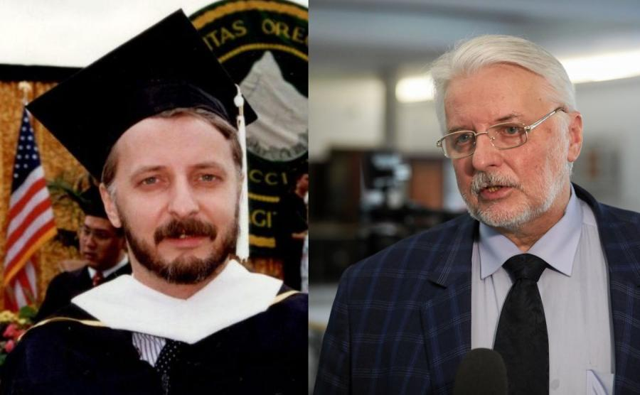 Witold Waszczykowski w 1989 roku i dziś