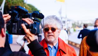 Pedro Almodovar w Cannes