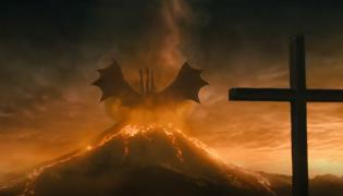 """Kadr z filmu """"Godzilla II: Królowa Potworów"""""""