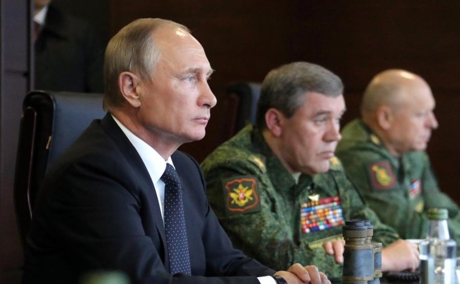 Władimir Putin i Walerij Gierasimow