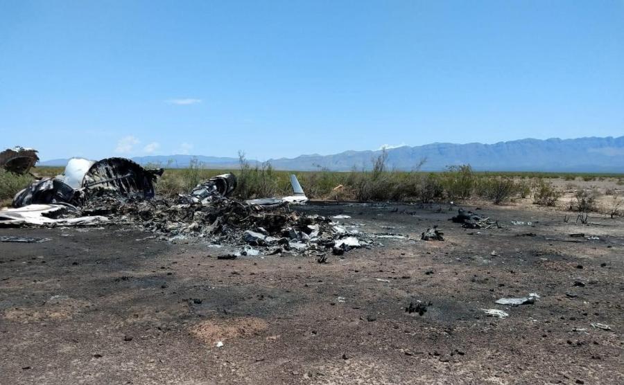 Katastrofa samolotu Bombardier Challenger w Meksyku