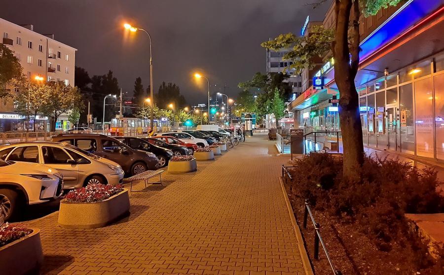 Tryb nocny - zdjęcie wykonane Motorolą One Vision
