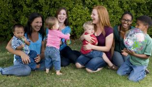 Matki z dziećmi