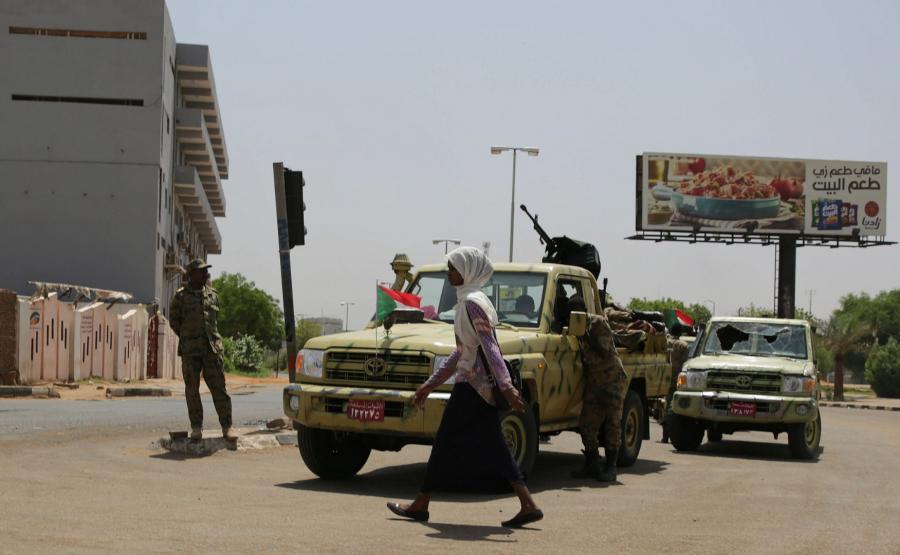 Sudańskie wojsko
