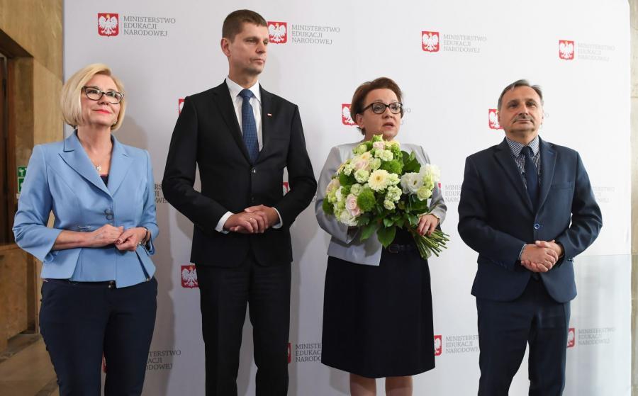 Dariusz Piontkowski i Anna Zalewska