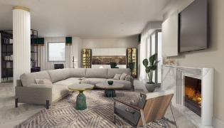 Luksusowe mieszkanie