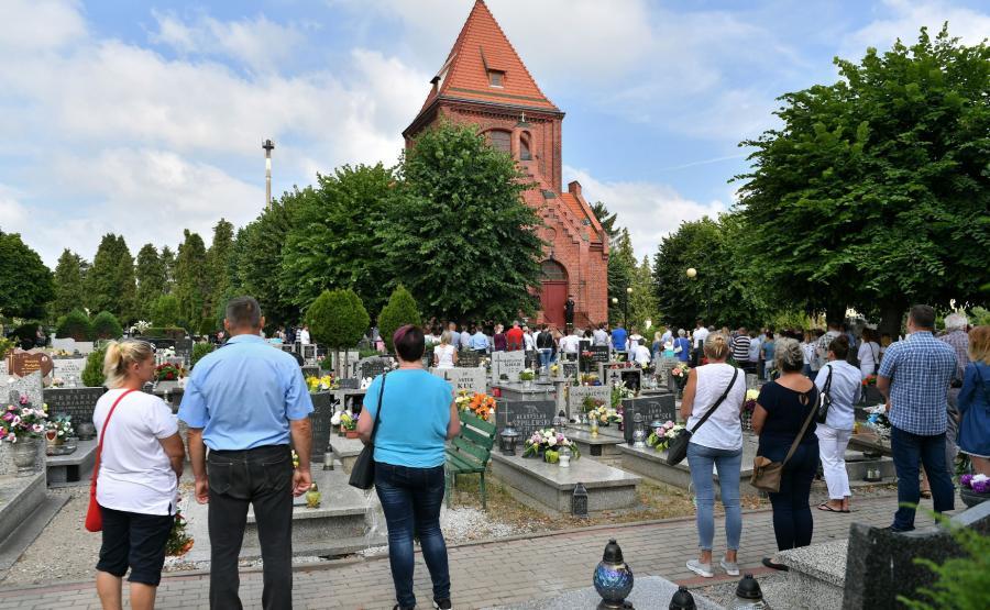 Pogrzeb Kristiny w Żarach