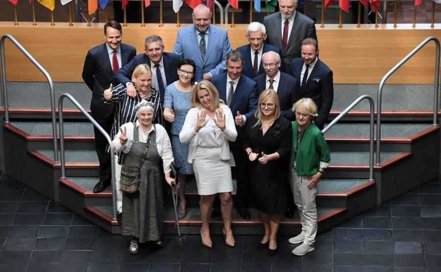 Europosłowie PO w PE