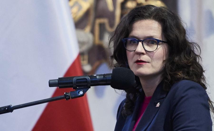 Prezydent Gdańska Aleksandra Dulkiewicz