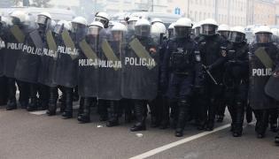 Policja na ulicach Białegostoku