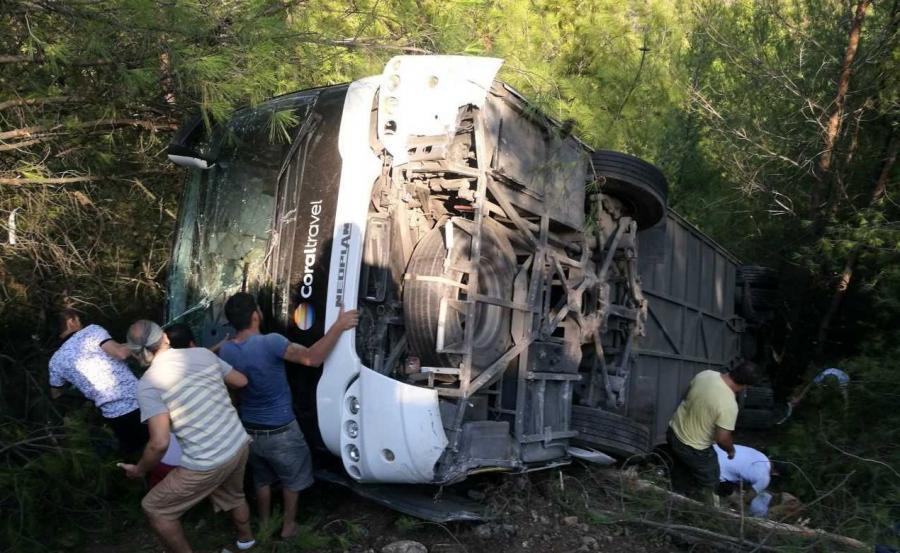 Wypadek polskiego autokaru w Turcji