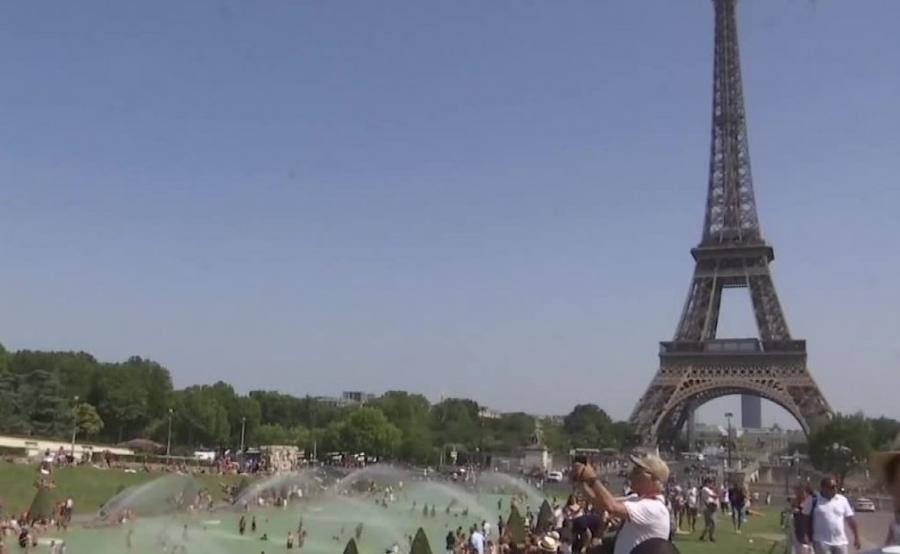 Upał w Paryżu