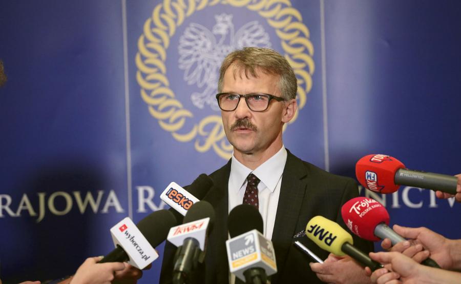 Leszek Mazur. przewodniczący KRS