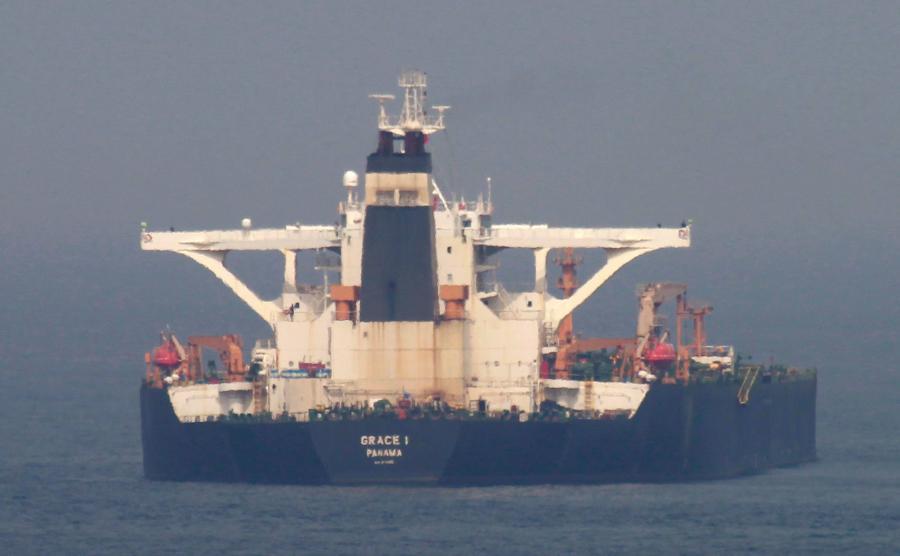 Irański tankowiec Grace 1