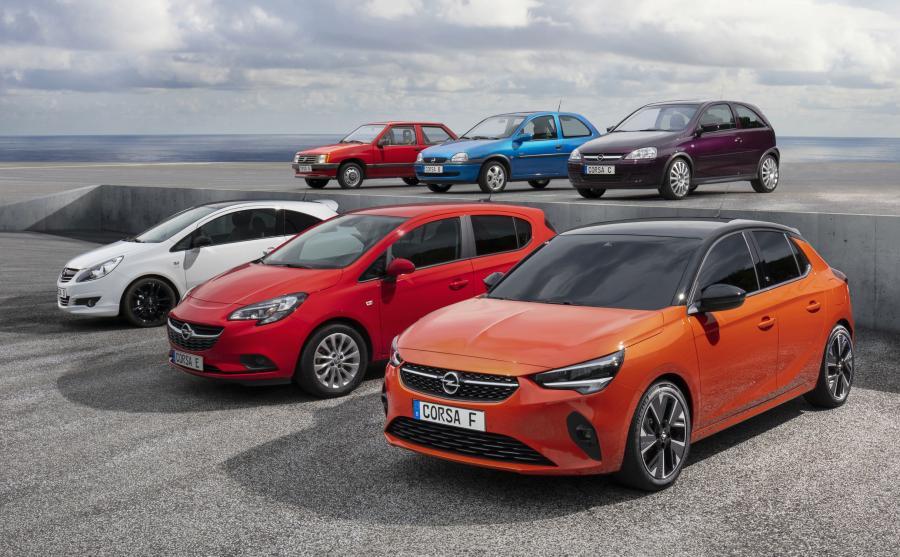 Opel Corsa - sześć pokoleń