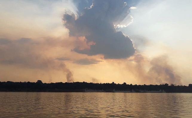 Dymy z pożaru