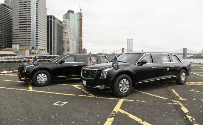 Zdjęcie limuzyn wykonało U.S. Secret Service w 2018 roku