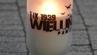 Znicz zapalnony przez prezydentów Polski i Niemiec w Wieluniu