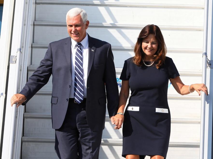 Mike i Karen Pence
