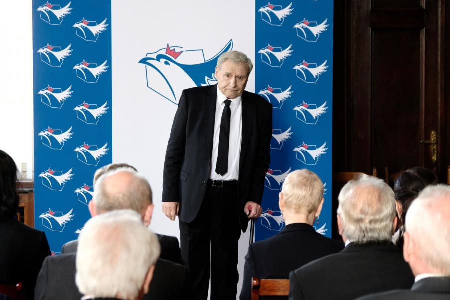 Andrzej Grabowski jako Prezes w filmie \