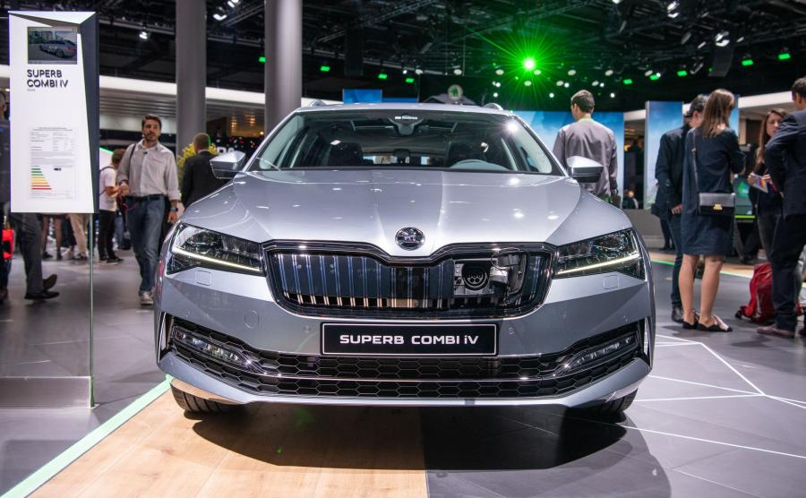 Skoda Superb iV kombi