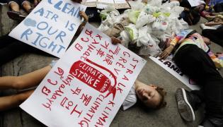 Młodzieżowy Strajk Klimatyczny w Bangkoku