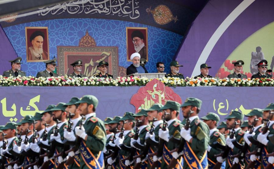 Defilada w Iranie