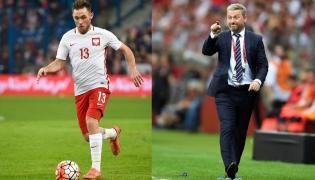 Maciej Rybus i Jerzy Brzęczek