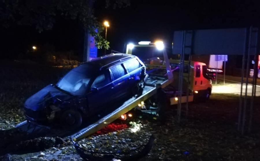 Rozbity VW Passat