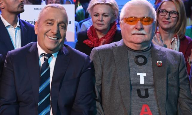 Schetyna: Wałęsa poprze Koalicję Obywatelską. Zagłosuje na swojego syna