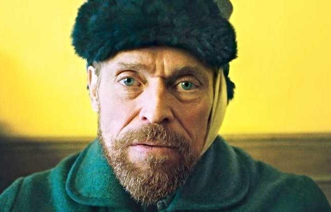 Willem Defoe jak Van Gogh