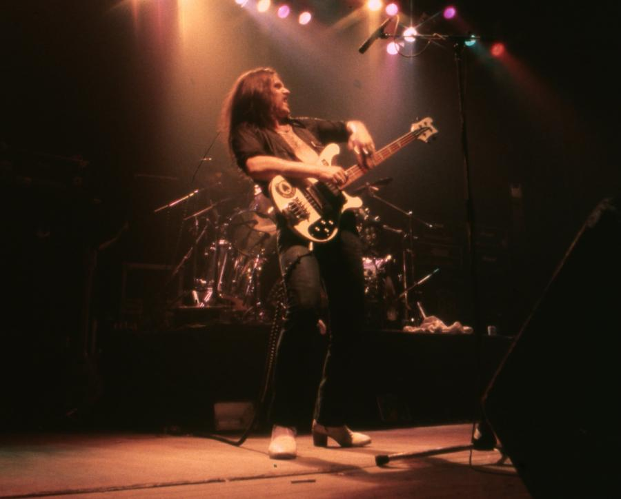 Lemmy Kilimister z Motorhead w 1979 rou
