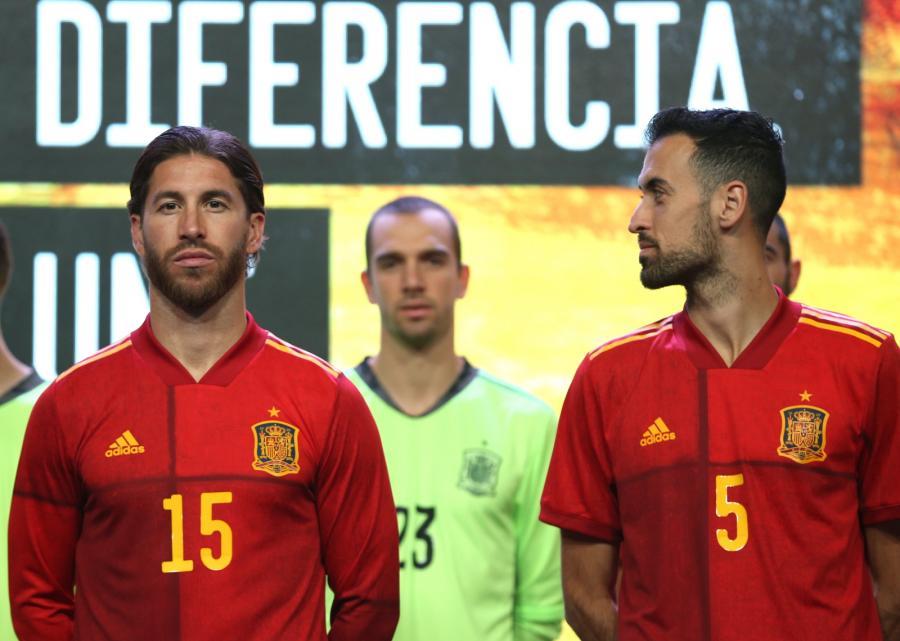 Stroje reprezentacji Hiszpanii