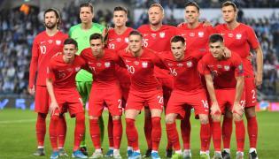 Piłkarze reprezentacji Polski przed meczem grupy G eliminacji piłkarskich mistrzostw Europy 2020 z Izraelem w Jerozolimie