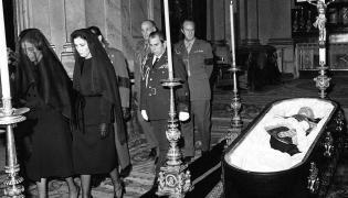 Pogrzeb generała Franco w 1975 roku