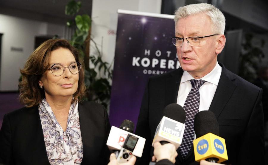 Małgorzata Kidawa-Błońska, Jacek Jaśkowiak
