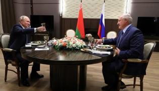 Alaksandr Łukaszenko i Władimir Putin