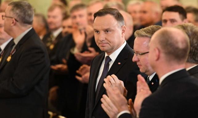 Andrzej Duda ostro o sędziach: Poziom zakłamania tego towarzystwa mnie osłabia
