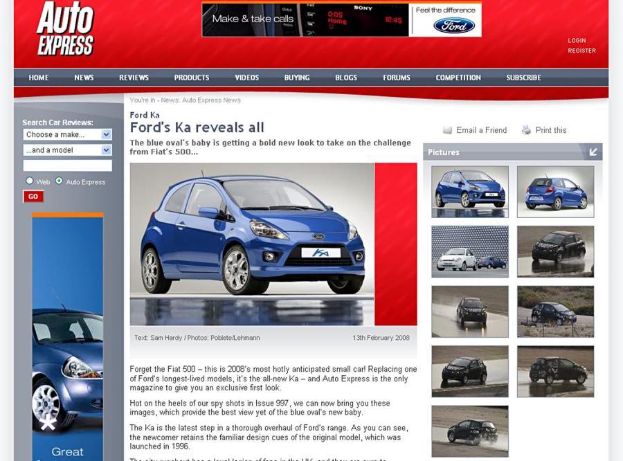Ford Ka z Polski