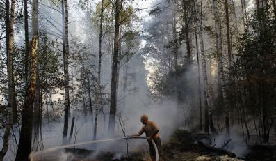 Akcja gaszenia lasów w Rosji w sierpniu 2010 r.